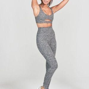 Joah brown lift legging marled grey xs/s